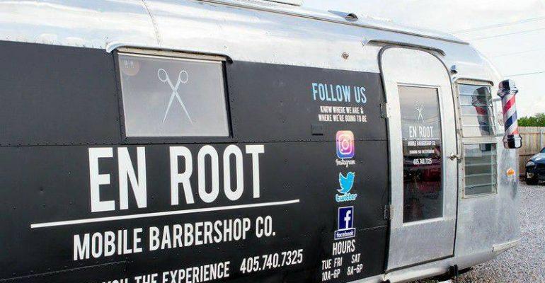 En Root mobile barbershop