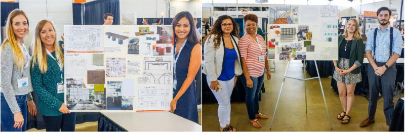 Interior Design Students Place In Metrocon18 Competition Christopher C Gibbs College Of Architecture