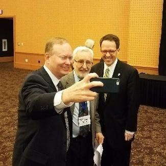 Mayors Mick Cornett (Oklahoma City) and G.T. Bynum (Tulsa)