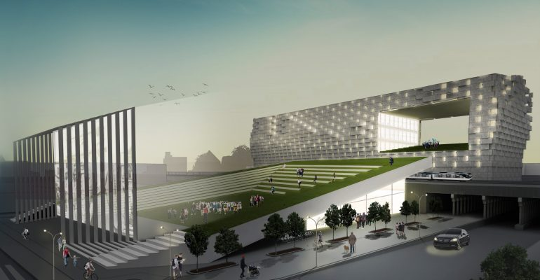 National Organization of Minority Architects Student Competition Design