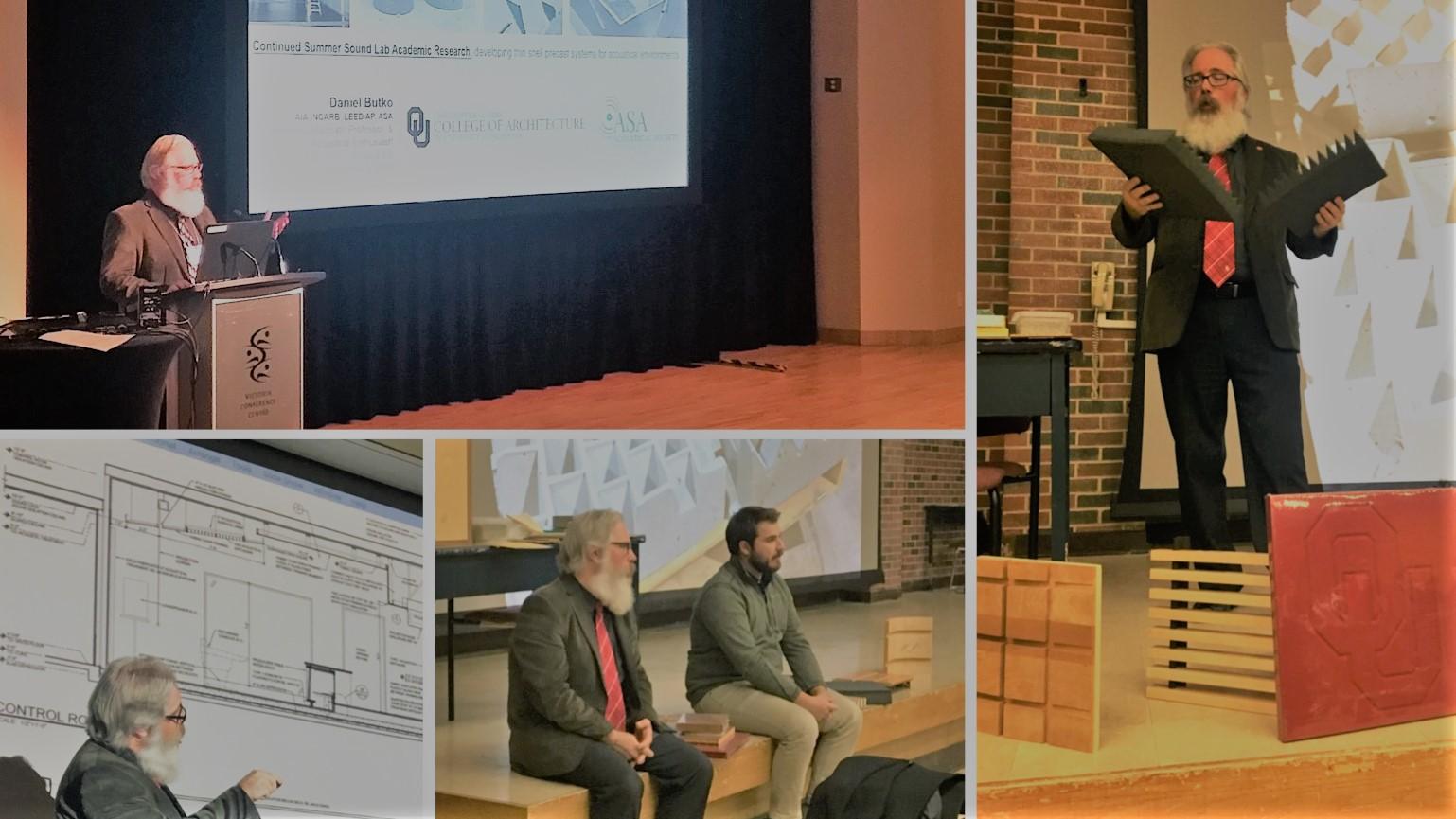 Daniel Butko Architecture Acoustics sOUnd Lab Oklahoma