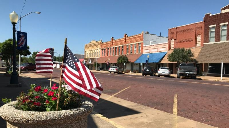 "Waurika is a community of about 2,000 people that serves as the county seat for Jefferson County, along Oklahoma's southern border, the Red River. The community has seen a number of recent milestones, including hosting a Smithsonian Exhibit, ""The Way We Worked,"" in which over 300 people volunteered to make a great exhibit come together. Other initiatives have also been activating and improving the community's main street."