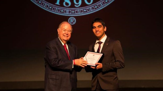 Engineering student Pranav Mohan recently received an Undergraduate Research Opportunities (UROP) Grant to work with GCA architecture professor Andres Cavieres
