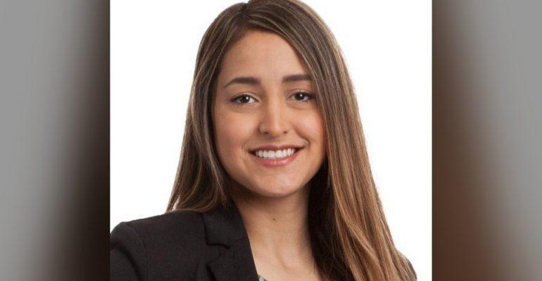 Gabriela Escanola, Project Engineer, University of Oklahoma Haskell and Irene Lemon of Construction Science Alumnus