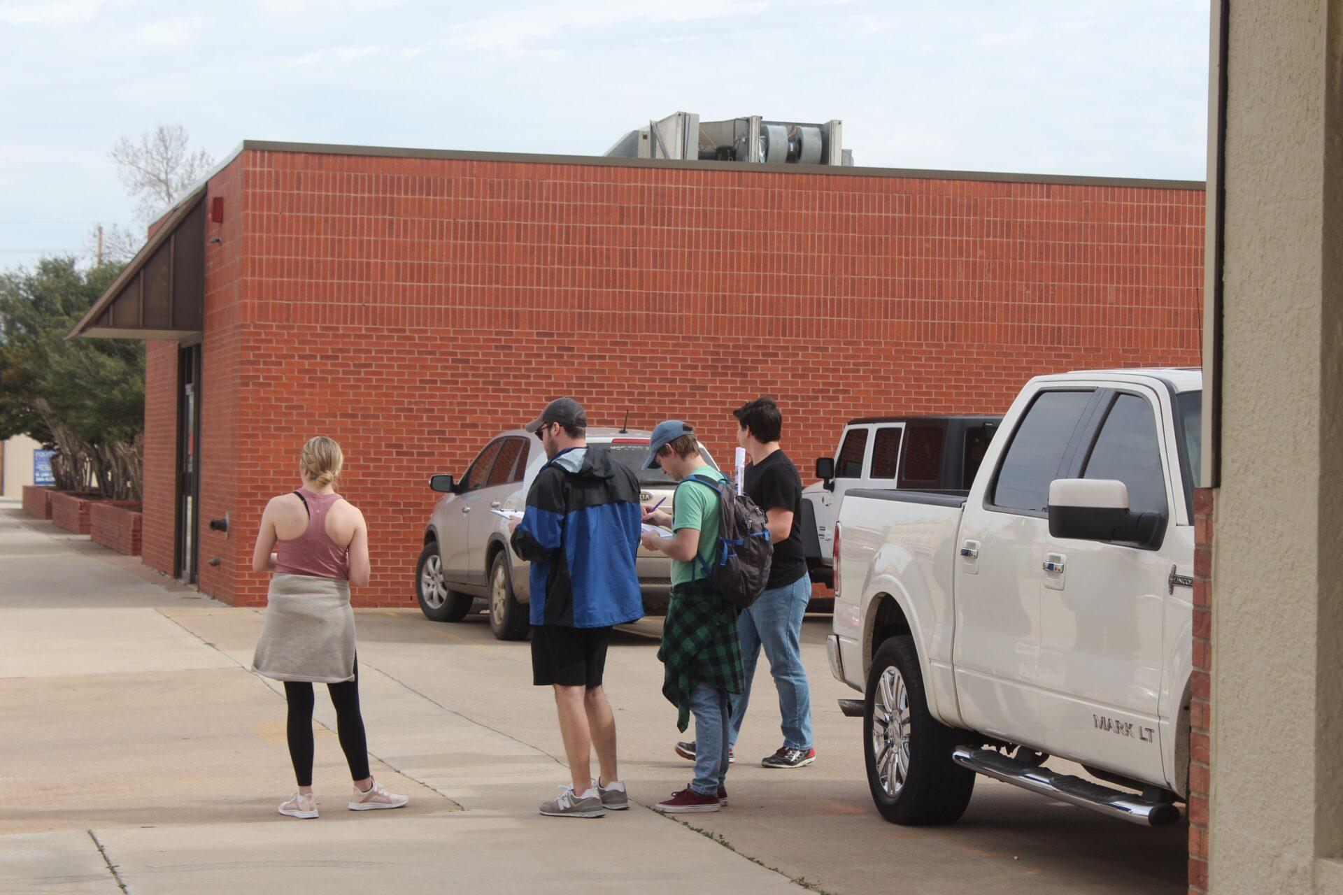 Students complete Parking Survey