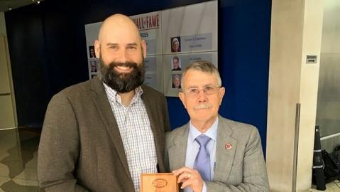 Anthony Perrenoud University of Okahoma Construction Science Associated Schools of Construction Regional Teaching Award 2019