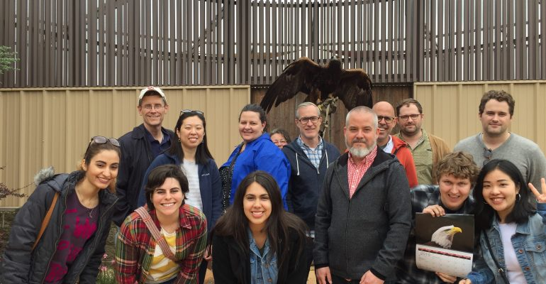 RCPL faculty and students visit Citizen Potawatomi Nation