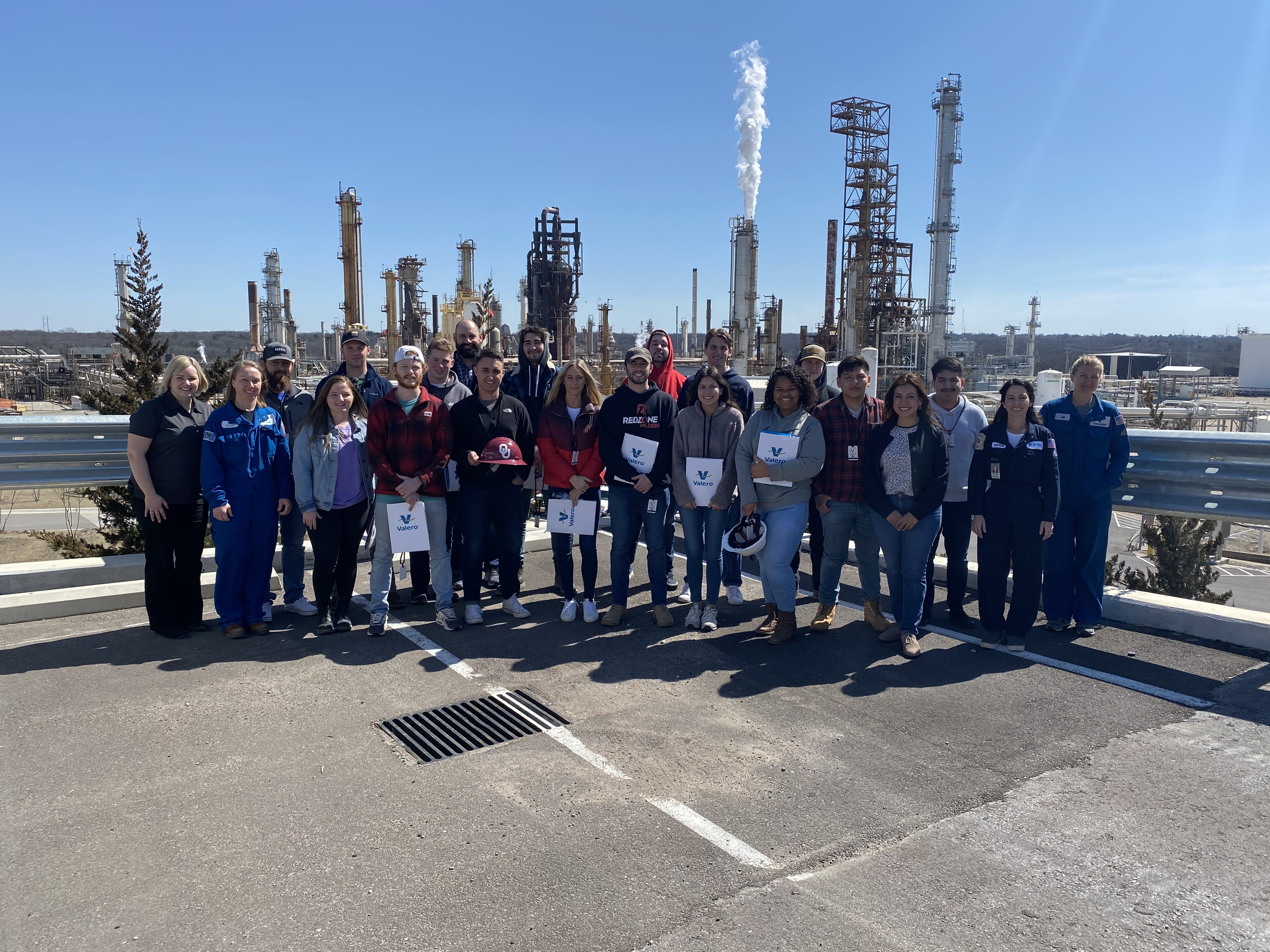 OU Construction Science Valero Tour